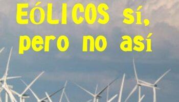 Colectivos piden la moratoria de todos los proyectos de parques eólicos en Cantabria