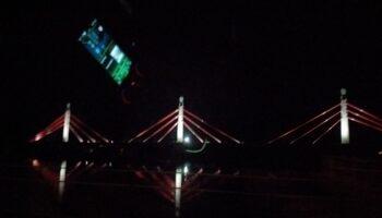 Se apagan los focos del Puente de Colindres